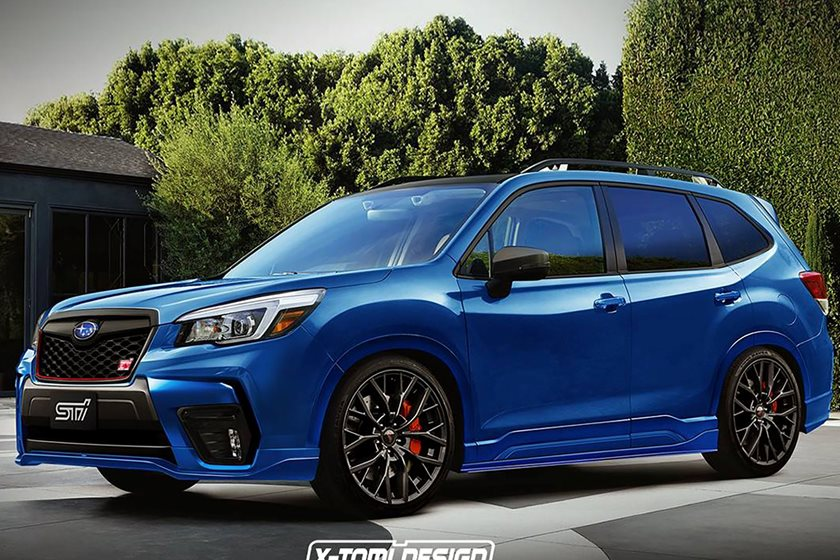 3c9df49815 What If Subaru Made A High-Performance Forester STI  - CarBuzz