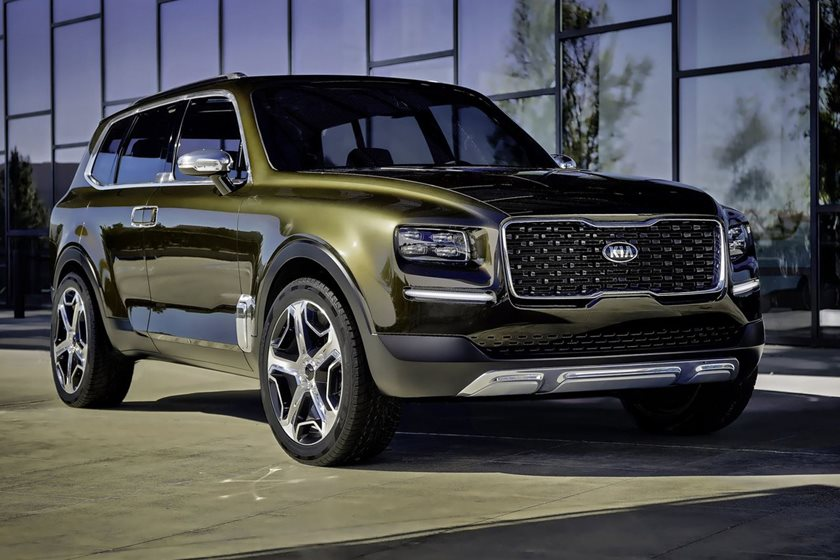 Kia Telluride Crossover Will Look A Lot Like The Gorgeous Concept