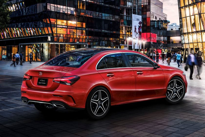 2019 mercedes benz a class sedan is big in china carbuzz. Black Bedroom Furniture Sets. Home Design Ideas