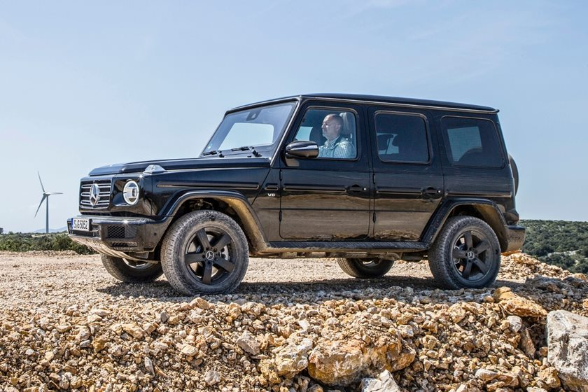 2019 mercedes benz g class g550 review trims specs and price carbuzz. Black Bedroom Furniture Sets. Home Design Ideas