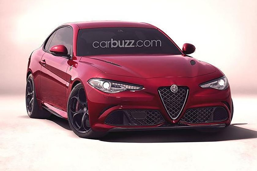Alfa Romeo Giulia Coupe Will Be Almost As Powerful As The Ferrari