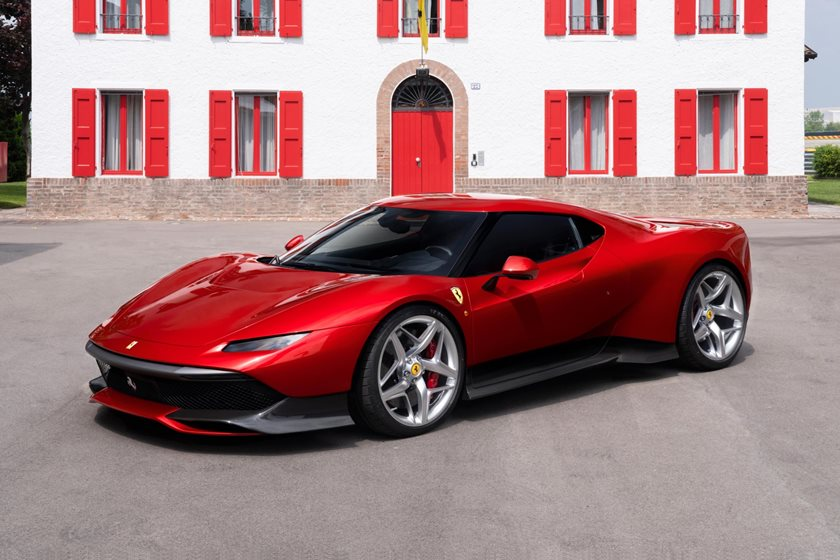 Say Hello To The One-Off Ferrari SP38