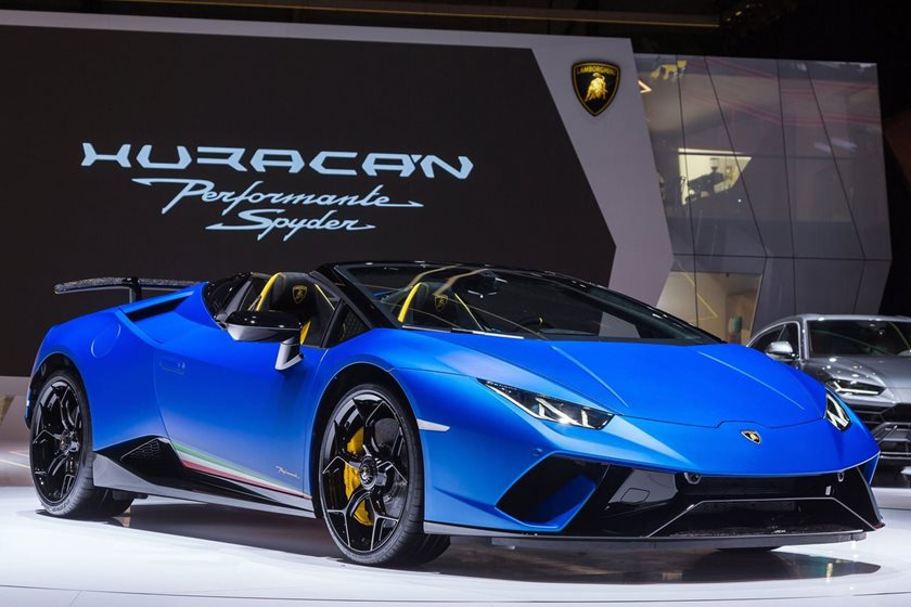 Lamborghini Is The Latest Automaker To Bail On Paris