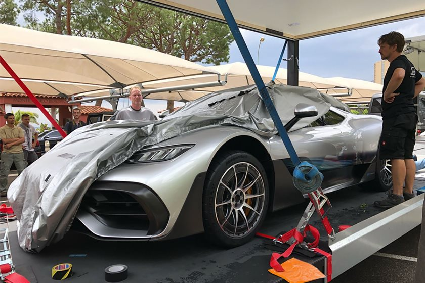 Production Ready Mercedes Project One Spotted In Monaco Carbuzz