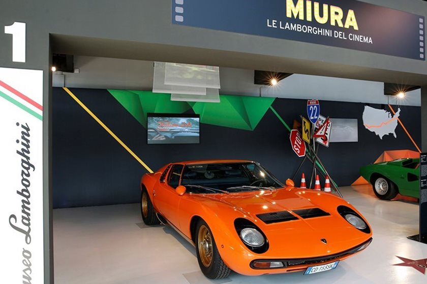 Hollywood S Most Famous Lamborghinis Now On Display In Italy Carbuzz