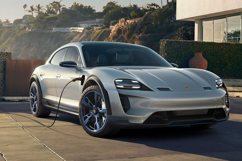 say hello to the porsche taycan mission e has a brand new name carbuzz. Black Bedroom Furniture Sets. Home Design Ideas