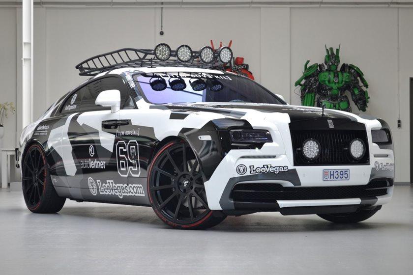 you can buy jon olsson's customized 810 hp rolls-royce wraith - carbuzz