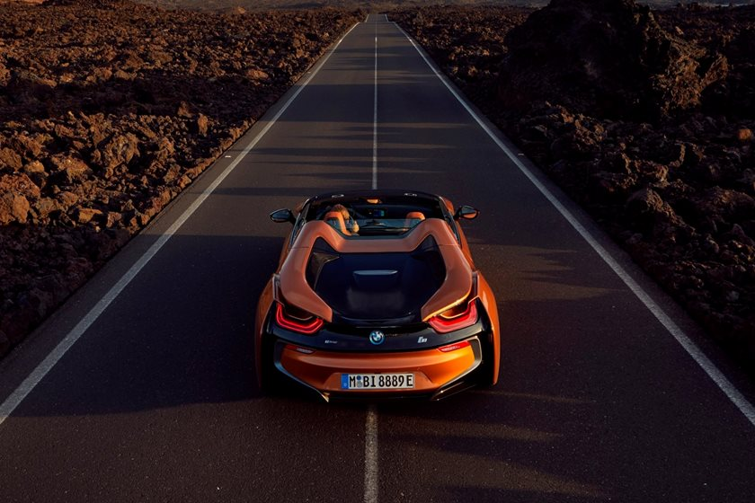 2019 BMW i8 Roadster Rear View