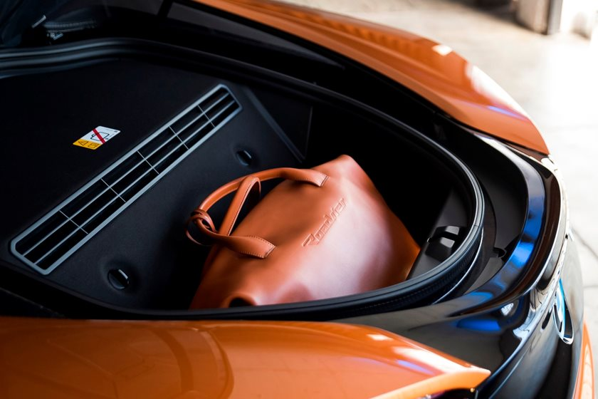 2019 BMW i8 Roadster Luggage Space