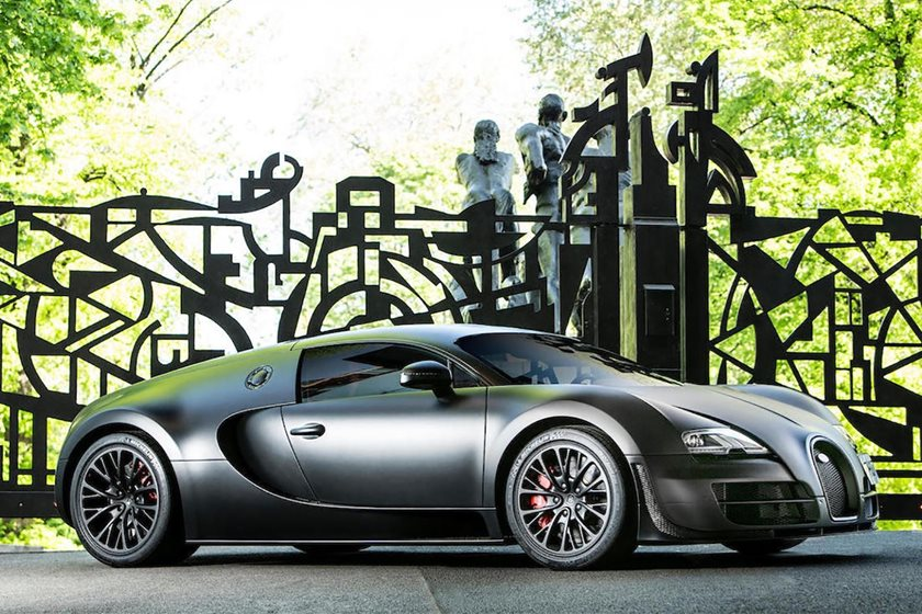 Last Bugatti Veyron SS Ever Made Looking For A New Owner - CarBuzz