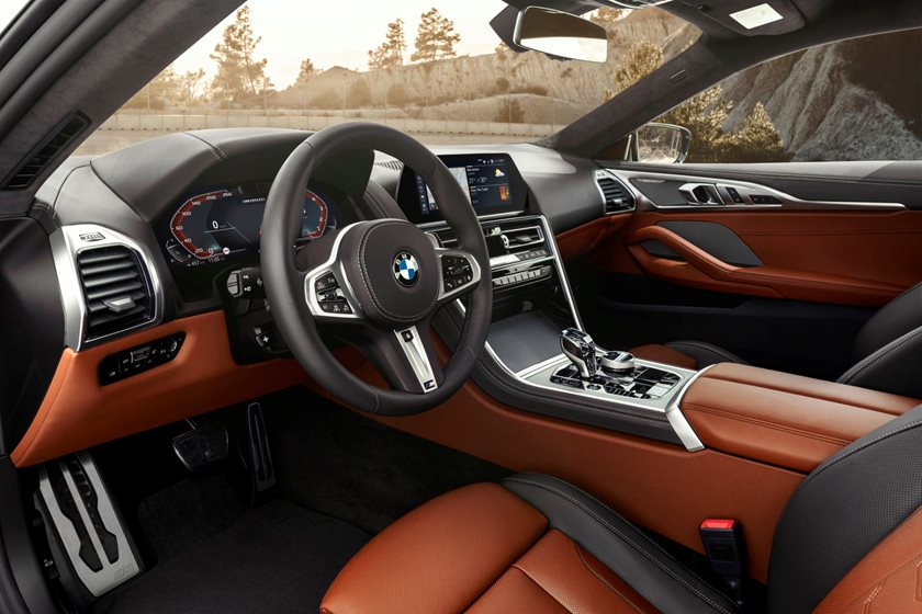 2019 BMW 8 Series Driver Area