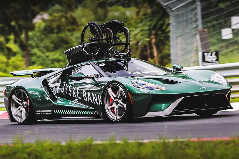 Beyond Racing He Began Driving A  Ford Gt In Charity Events To Help Raise Money For The Childrens Cancer Foundation In Denmark