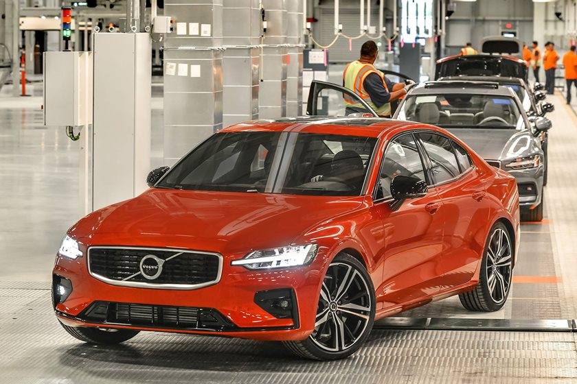 Volvo Launches The New S60 Sedan, And This Swede Is Built In The USA