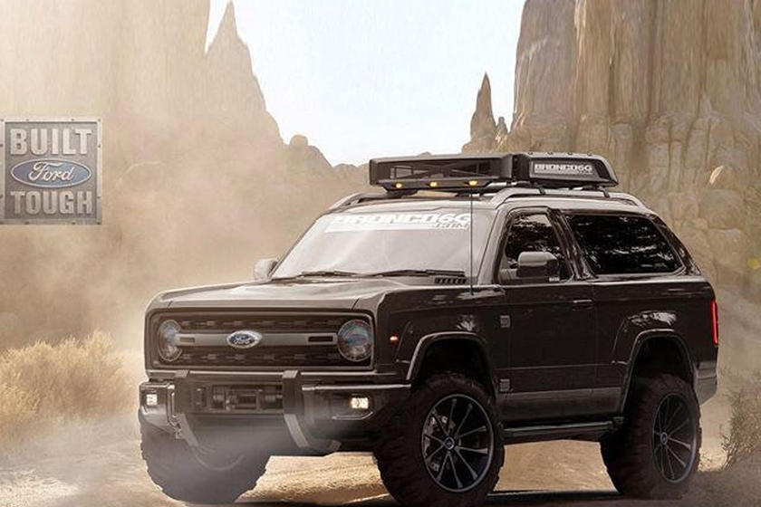 hennessey  extreme  road plans   ford bronco carbuzz