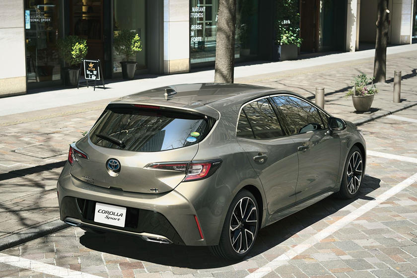 Toyota Corolla Hatchback Gets New Turbo Sport Model In Japan Carbuzz
