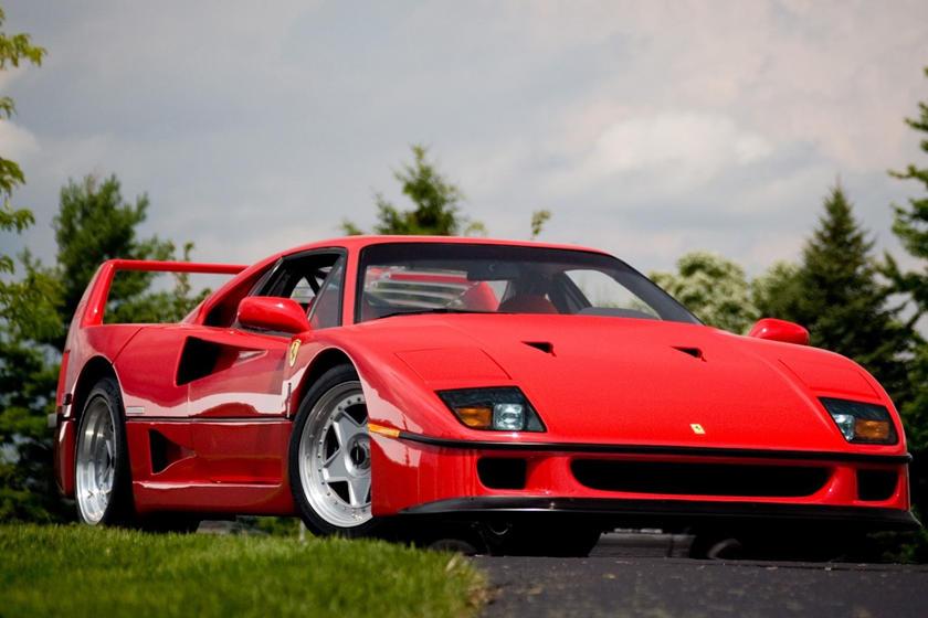 Ferrari f40 pop up headlights