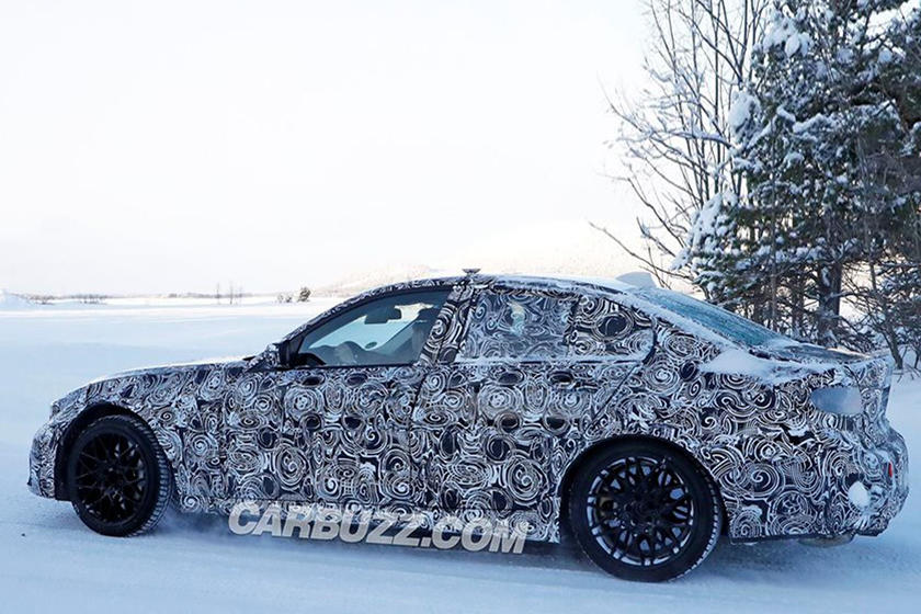 2020 Bmw M3 Will Be Lighter And Faster Than Today S M3 Cs Carbuzz