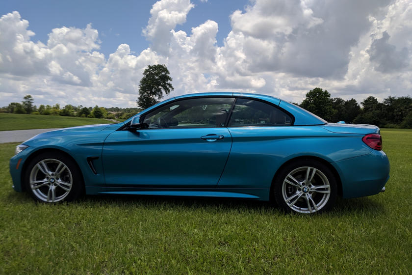 2018 Bmw 4 Series Convertible Review Top Down Fun Comes At A Price