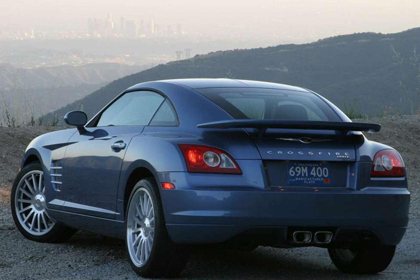 The Chrysler Crossfire SRT-6 Is A Supercharged Bargain - CarBuzz