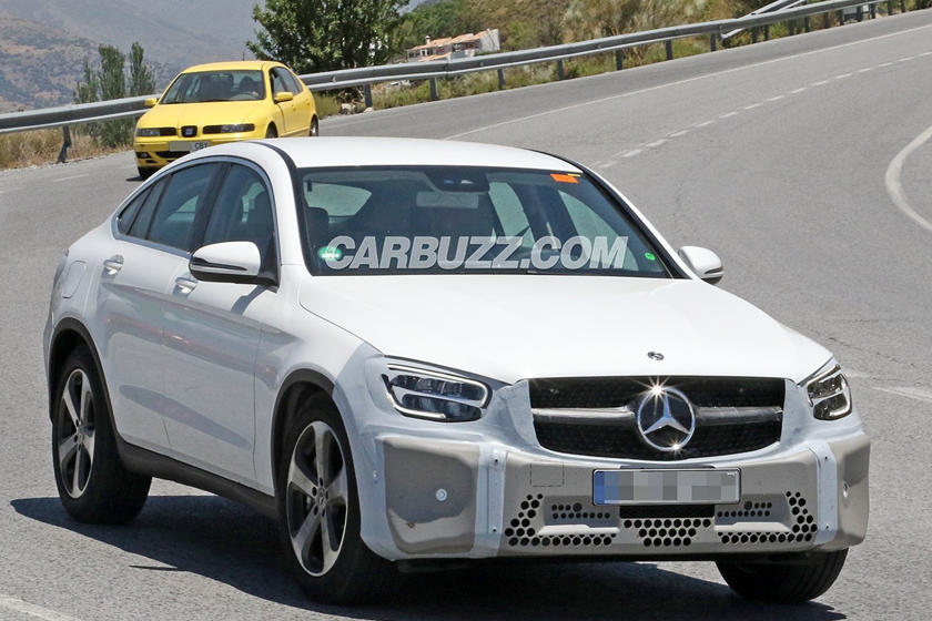 2019 Mercedes Glc Coupe Is Looking Close To Production Carbuzz