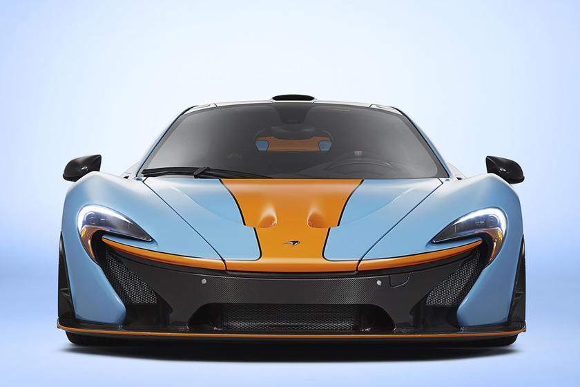 McLaren Reveals New Track25 Program Including P1 Successor