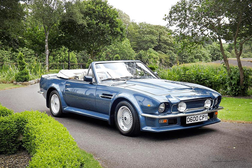 Rare Aston Martin Vantage Volante X Pack Is One Of 78 In The World
