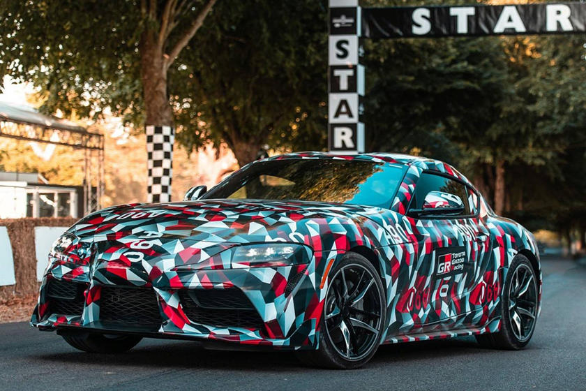 Watch The New Toyota Supra Tackle The Goodwood Hillclimb
