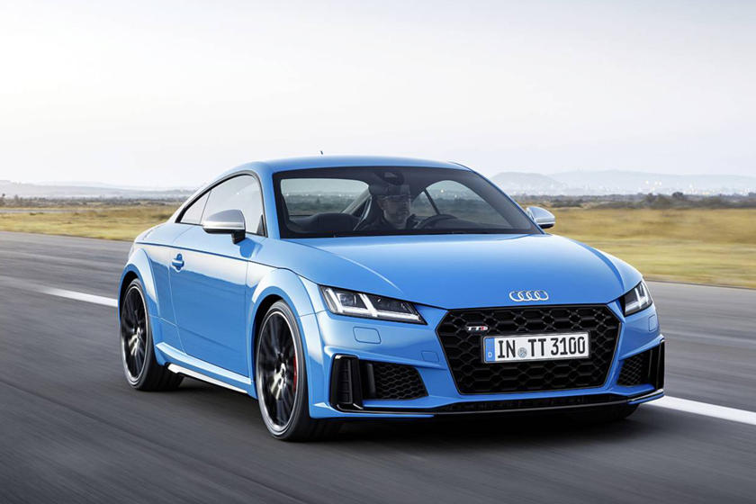 2019 audi tt arrives with sportier styling and new special editions carbuzz. Black Bedroom Furniture Sets. Home Design Ideas