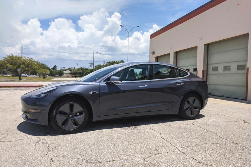 2018 Tesla Model 3 Left Side View