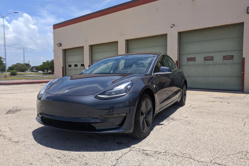 2018 Tesla Model 3 Three Quarter Front Left View