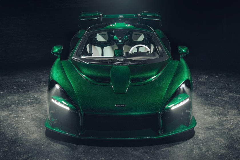 First McLaren Senna In America Reaches Owner