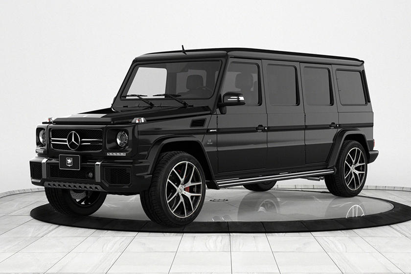 Mercedes Amg G63 Transformed Into Menacing Armored Limo Carbuzz