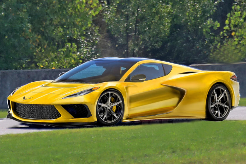 This Is The Best 2020 Mid-Engine C8 Corvette Rendering So Far