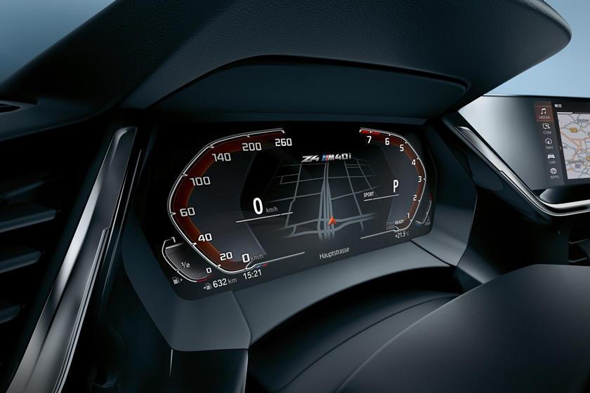 2019 BMW Z4 M40i Dashboard