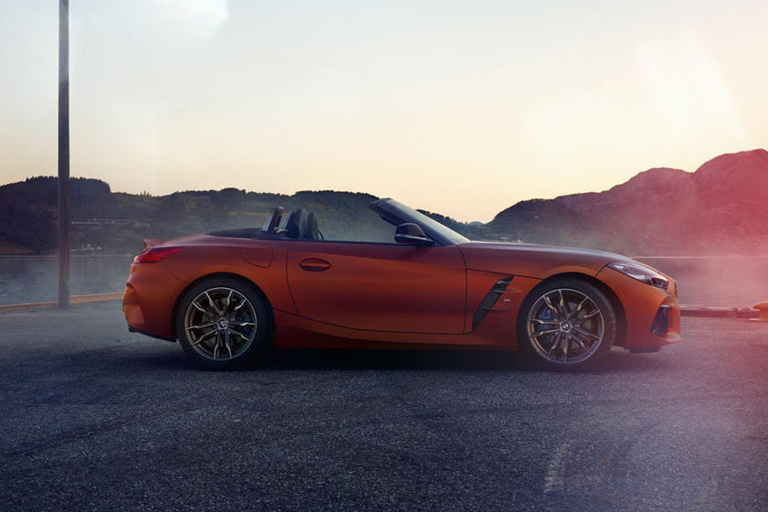 Here's Your First Look At The New BMW Z4 Inside And Out