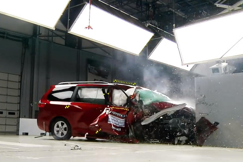 Latest Minivan Crash Tests Reveal Shocking Results
