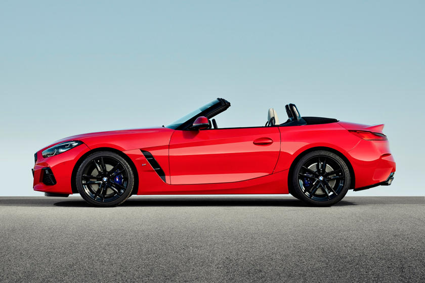 2019 BMW Z4 Roadster Side Profile Roof Opened