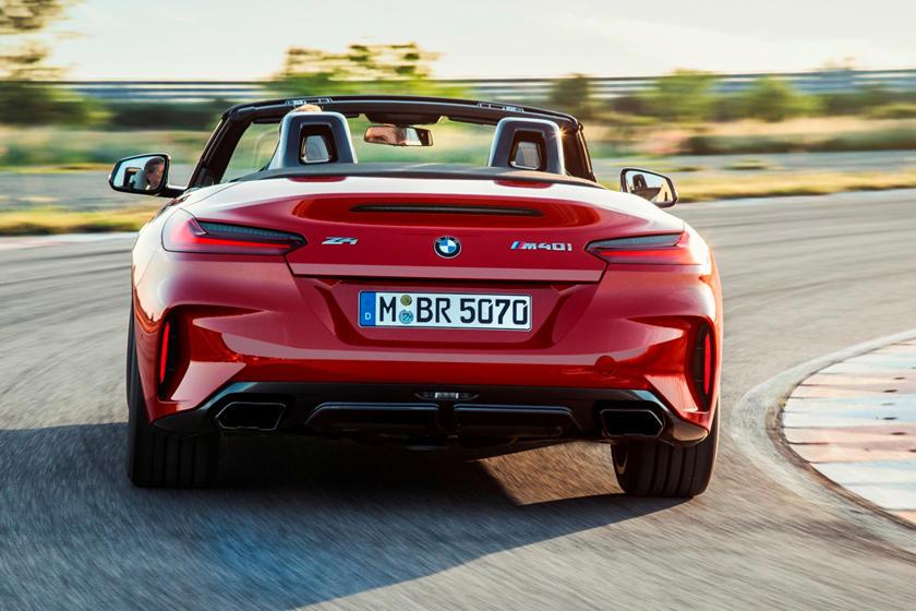 2019 BMW Z4 Roadster Rear View