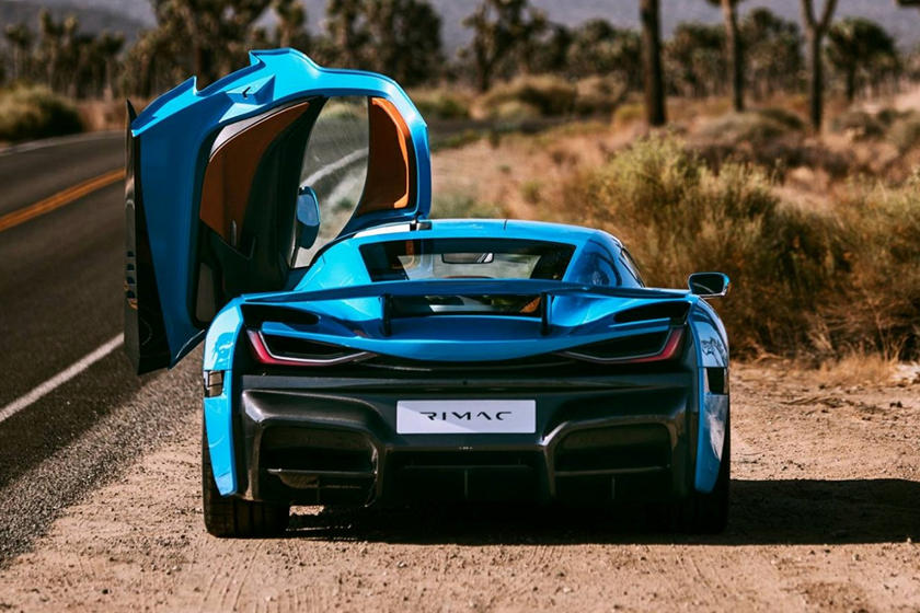 Rimac C_Two California Edition Revealed In Los Angeles