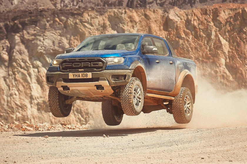 2019 Ford Ranger Raptor Debuts In Europe With 210 Hp Diesel Carbuzz