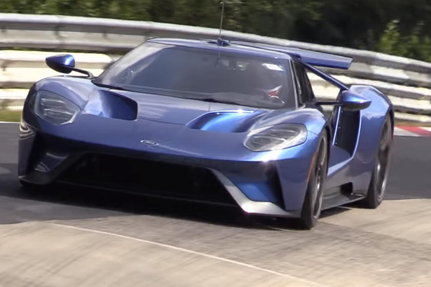 If Ford Is Trying To Set A New Nurburgring Lap Record It Seems Unlikely That The Gt Will Beat The Current Record Set By The Lamborghini Aventador Svj