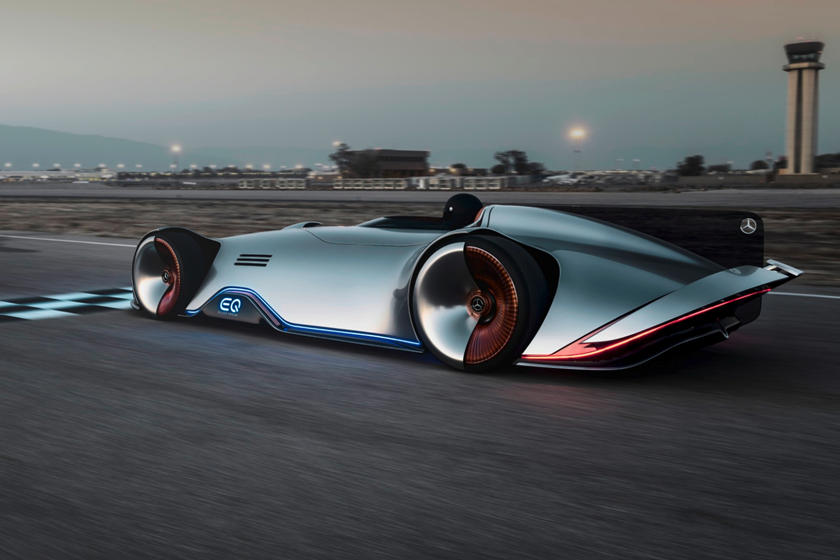Mercedes Vision Eq Silver Arrow Is A Stunning 750 Hp Electric