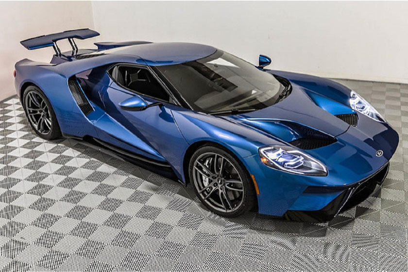 Russo And Steele Auctioned That Same Ford Gt During Monterey Car Week Selling For A Handsome Total Of Over   Million