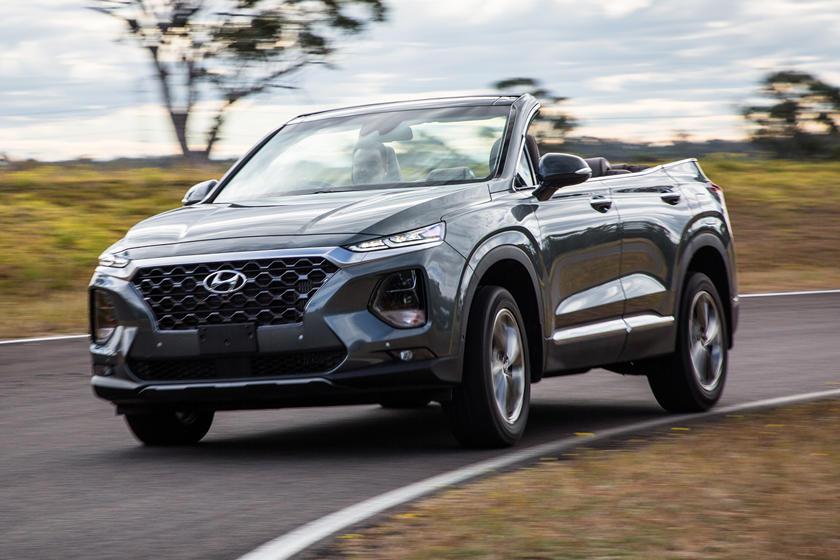 Hyundai Builds Bonkers Convertible Version Of Seven-Seat ...