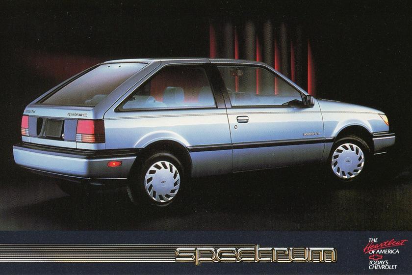1985 chevy spectrum hatchback