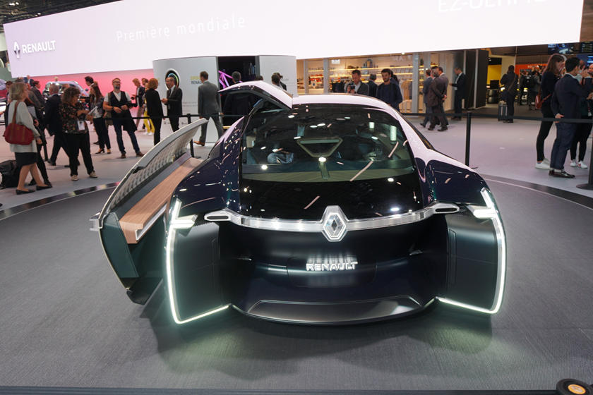 Renault Ez Ultimo Concept Could Be Tomorrow S Nissan Altima Carbuzz