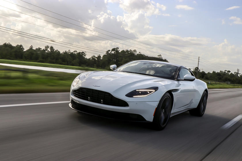 2019 Aston Martin Db11 Test Drive Review Making You Cool Even If