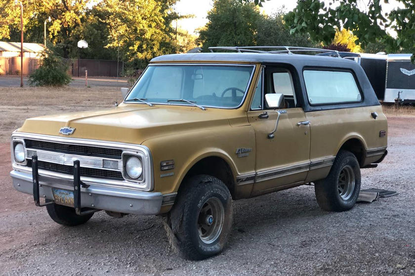 weekly craigslist hidden treasure 1970 chevrolet cst blazer 4x4chevy launched the k5 blazer in 1969 (the gmc jimmy arrived the following year) and until 1975 it even had some wicked cool removable tops for a convertible