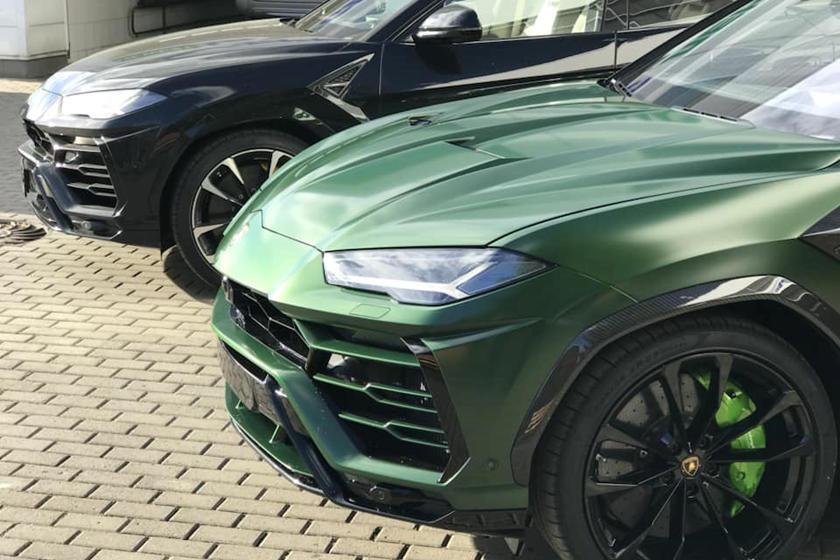 Lamborghini Urus Gets Aggressive Carbon Fiber Makeover Carbuzz