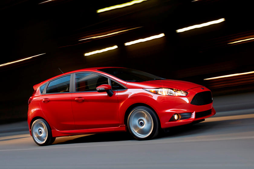 2014-2017 Ford  Fiesta ST In Motion
